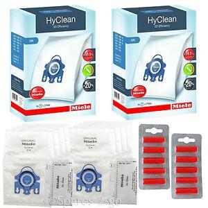 MIELE Vacuum Hoover Bags GN S2111 S8330 S8340 Filter Original Hyclean Genuine x8