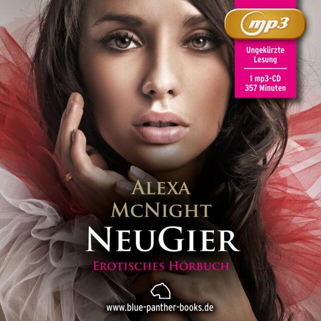NeuGier | Erotisches Hörbuch 1 MP3 CD Alexa McNight | blue panther books