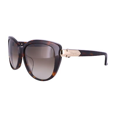Salvatore Ferragamo Sunglasses SF797SA 214 Tortoise Butterfly Women 59x15x135