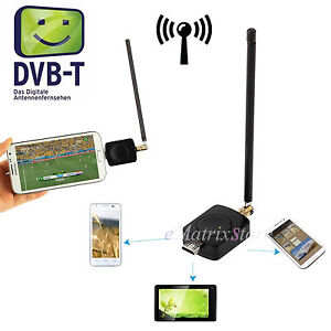 Mini Digital USB DVB-T TV Tuner Mobile Micro Receiver for Android4.0 PADTV Phone