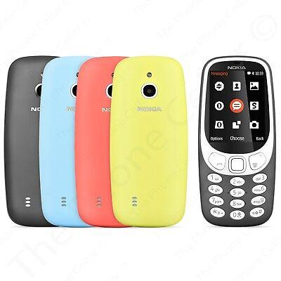 New Unlocked Nokia 3310 3G Ta 1036 Gsm Bar Cell Phone
