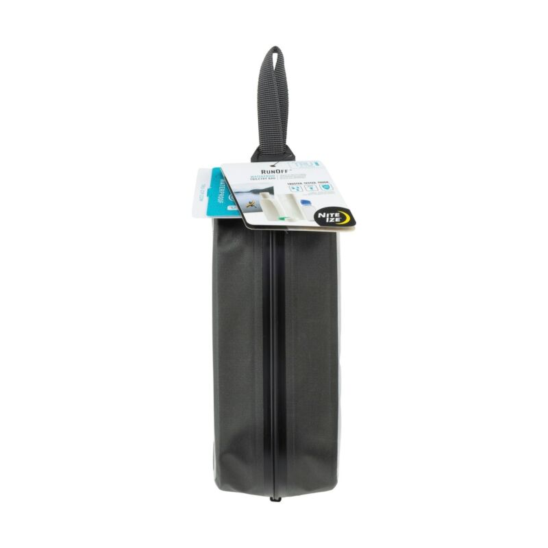 Nite Ize RunOff Waterproof Toiletry Bag With Nylon Handle Leakproof Travel Bag
