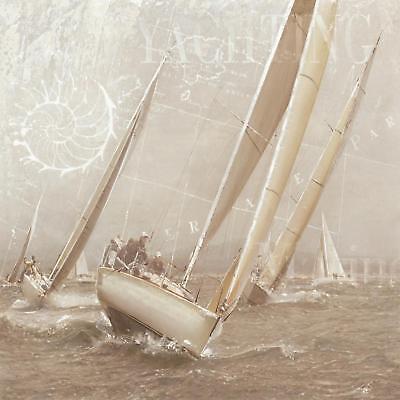 Gieben Maarten Yachting II Poster Kunstdruck Bild 70x70cm - Germanposters