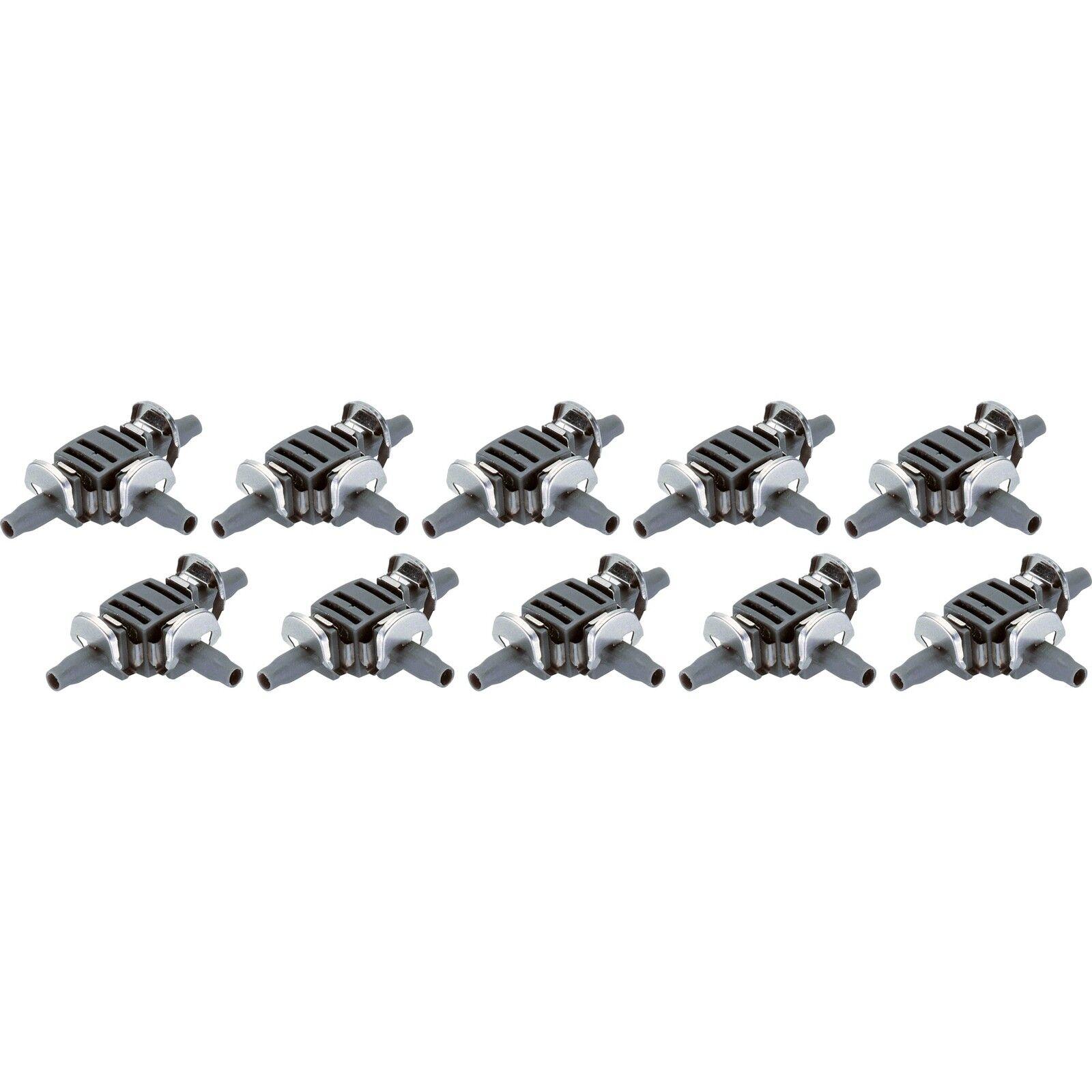 "10 Stück 3//16/"" grau Verbindung GARDENA Verbinder 4,6mm"