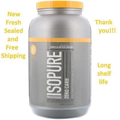 Nature's Best IsoPure Zero Carb Protein Powder Vanilla Salted Caramel 3