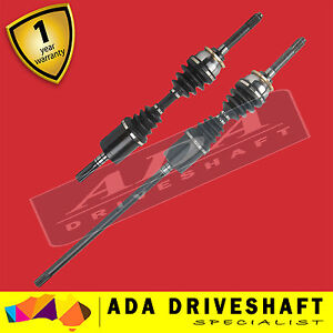 2 BRAND NEW CV JOINT DRIVE SHAFT HOLDEN RODEO 7/88-97 2.6L 2.8L V6 (Pair)