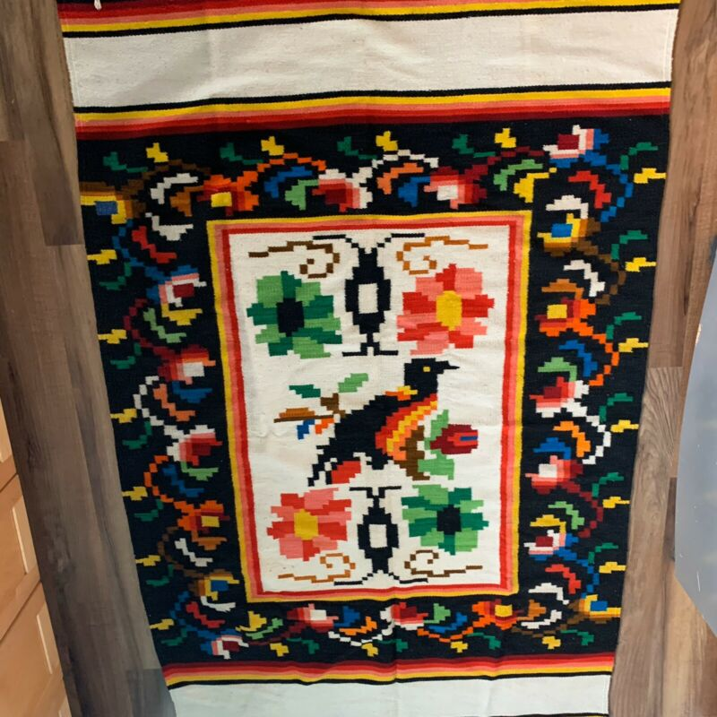 Antique Indian Native American Blanket from 1920