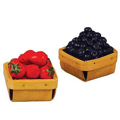 """Fresh Food 18"""" Doll Strawberry & Blueberry Pint Set, Accessory for American Girl"""