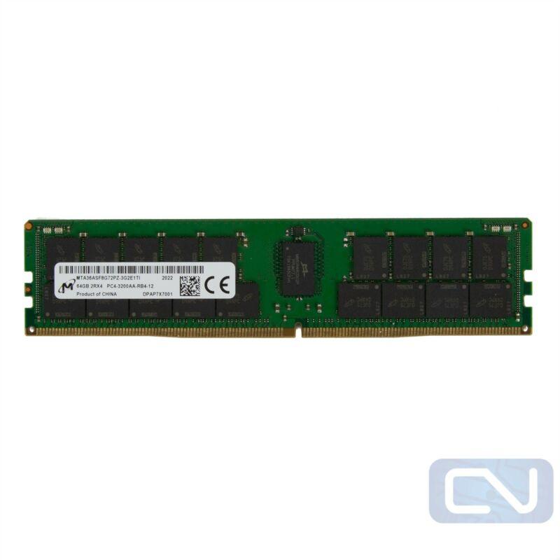 Micron MTA36ASF8G72PZ-3G2 64GB 2RX4 PC4-3200AA DDR4 3200 MHz / PC4-25600
