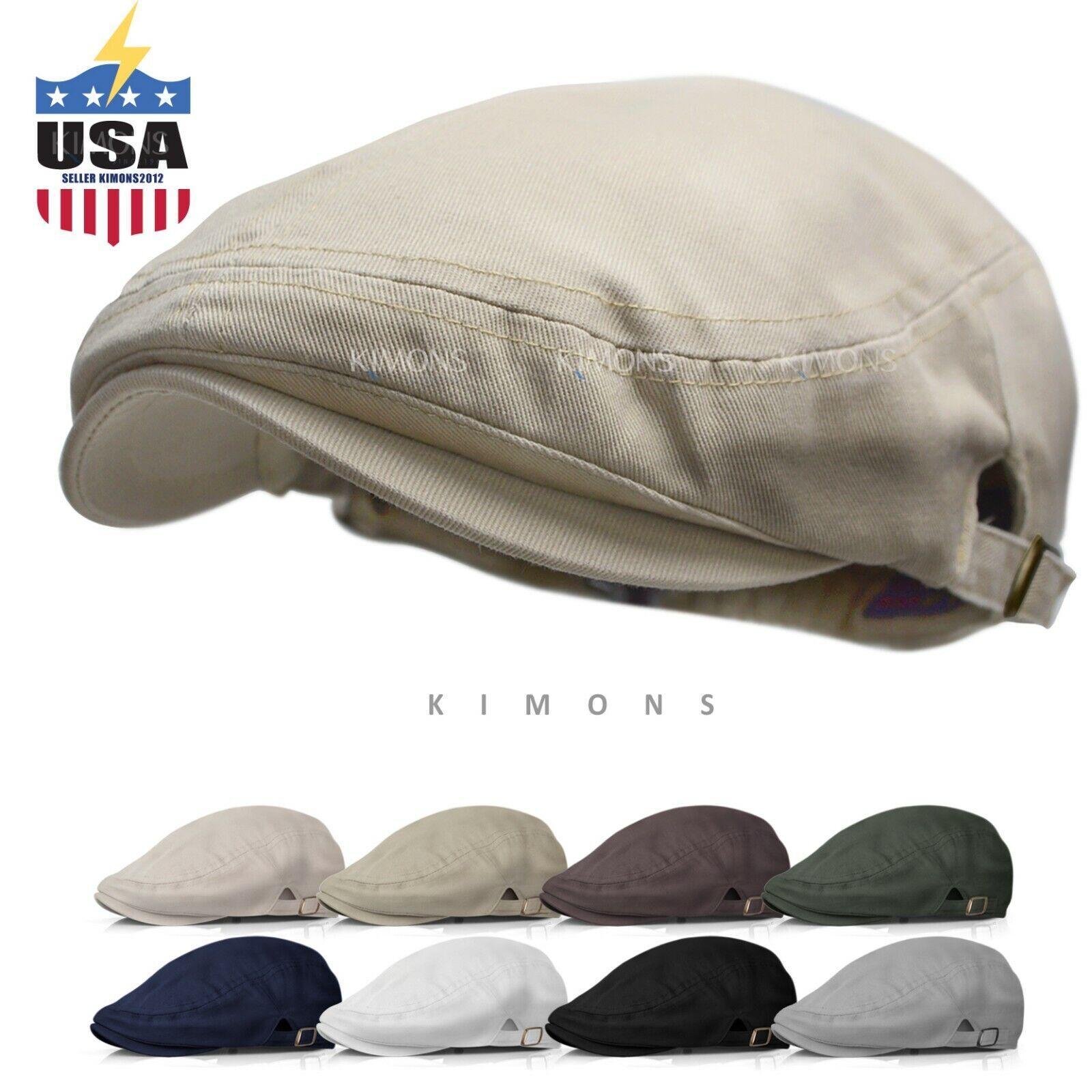 buckle cotton gatsby cap mens ivy hat