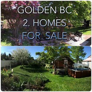 "GOLDEN. B C  2 HOMES  "" GREAT  MORTGAGE HELPER"""