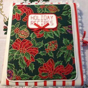 Handmade Holiday Recipe Book
