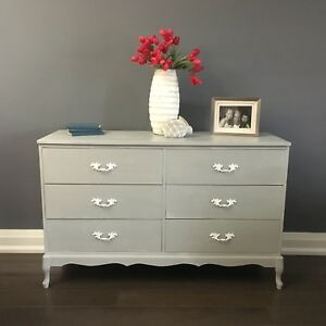 Vintage dresser french provincial chest of drawers