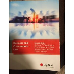 Business and Corporations Law- 3rd edition