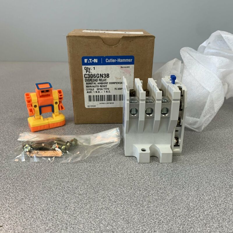 Eaton Cutler-Hammer C306GN3B Series B1 Overload Relay