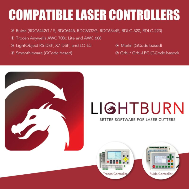 LightBurn License Product Key Software Compatible with ...