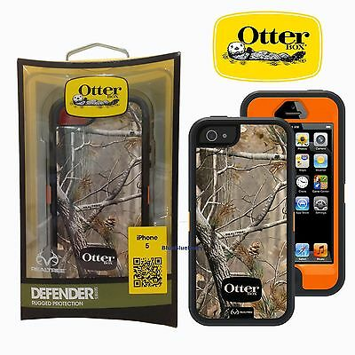 New OtterBox Defender Series Case For Apple iPhone 5/5s/SE AP Blazed -No Holster