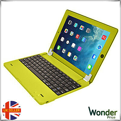 Wireless Keyboard Cover For Apple Iphone iPad2 and New iMac Tablet Phones Yellow