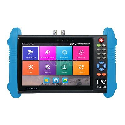 Ipc9800plus Cm 7 Ip Cctv Tester Monitor Ip Video Testing Support Onvif Wifi Poe