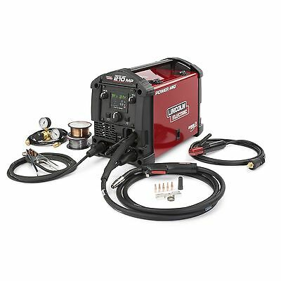 Lincoln Power Mig 210 Mp Multi Process Welder K3963-1