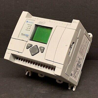2017 Allen Bradley 1763-l16bbb Ser B Frn 14 Micrologix 1100 Controller 24vdc Plc