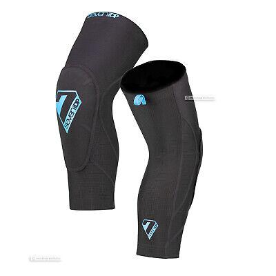 BLACK//GREY 7iDP SAM HILL LITE MTB Mountain Bike Armor Protection Knee Pads