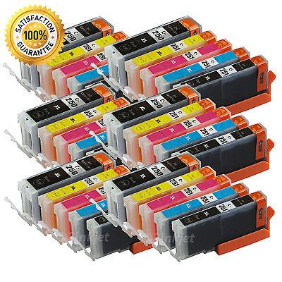 30 x PGI-250XL CLI-251XL Ink Cartridge For Canon Pixma MG5420 MG5520 MX722 MX922