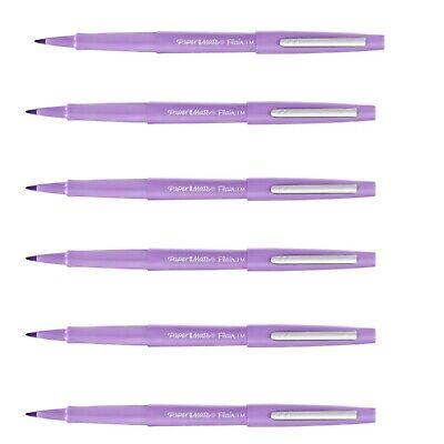 Paper Mate Flair Felt Pens, Medium Point, Light Purple (lavender), 6 Count