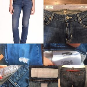 Ladies Jeans- Banana Republic/Gap/Old Navy Asst