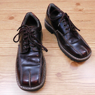 Eyelet Lace Up Mens Dress (Nunn Bush NXXT Men's Oxford Dress Shoes 7.5 M Brown Leather 4 Eyelet Lace Up)