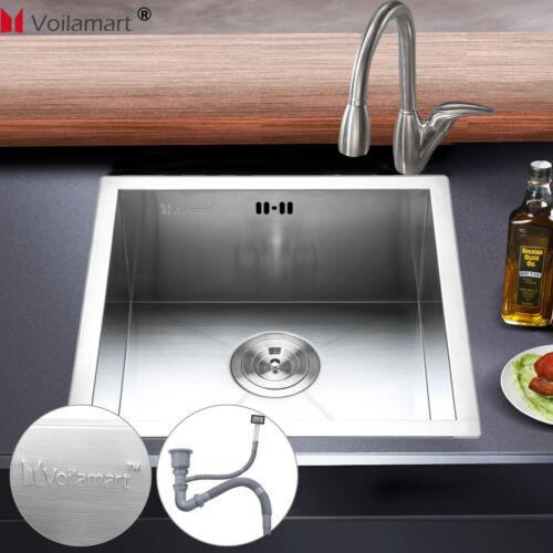 304 Einbauspüle Edelstahl Spüle Küchenspüle Waschbecken Spülbecken mit Zubehöre