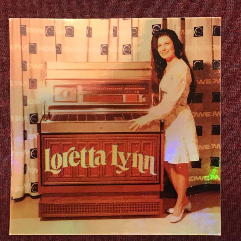 "LORETTA LYNN 3.5x3.5"" HOLO-DECAL/STICKER *NICE!* Custom Vintage/Retro 1970s LOOK"