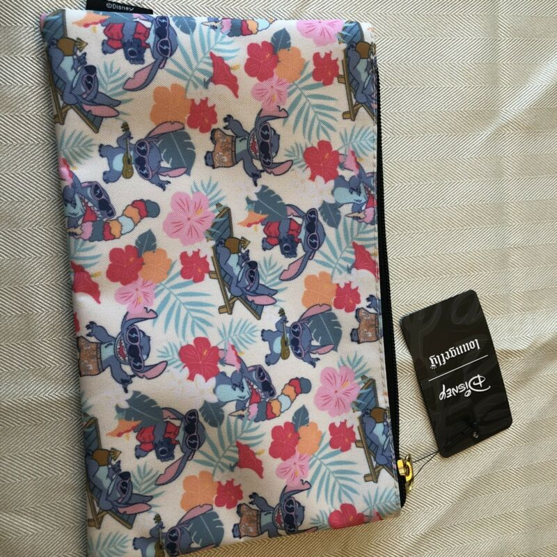 Disney Loungefly Stitch Makeup Travel Bag