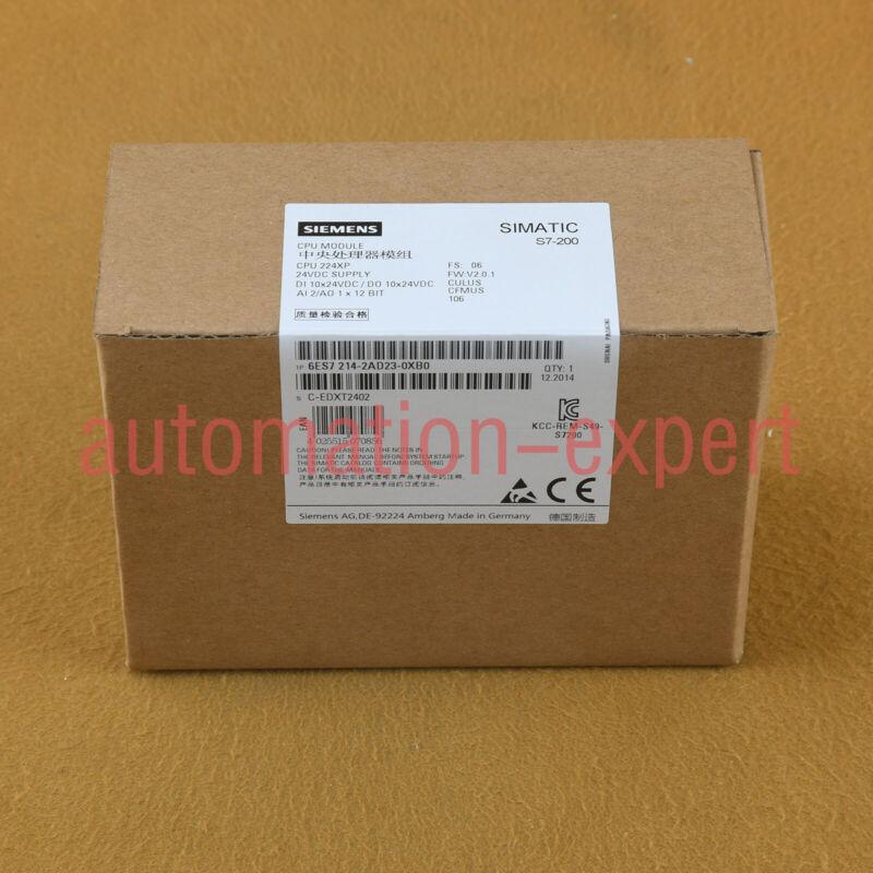 NEW Siemens Plc module 6ES7 214-2AD23-0XB0 6ES7214-2AD23-0XB0 1 year warranty
