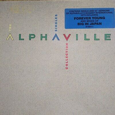 "Alphaville ""The Singles Collection"" promo vinyl LP never played"