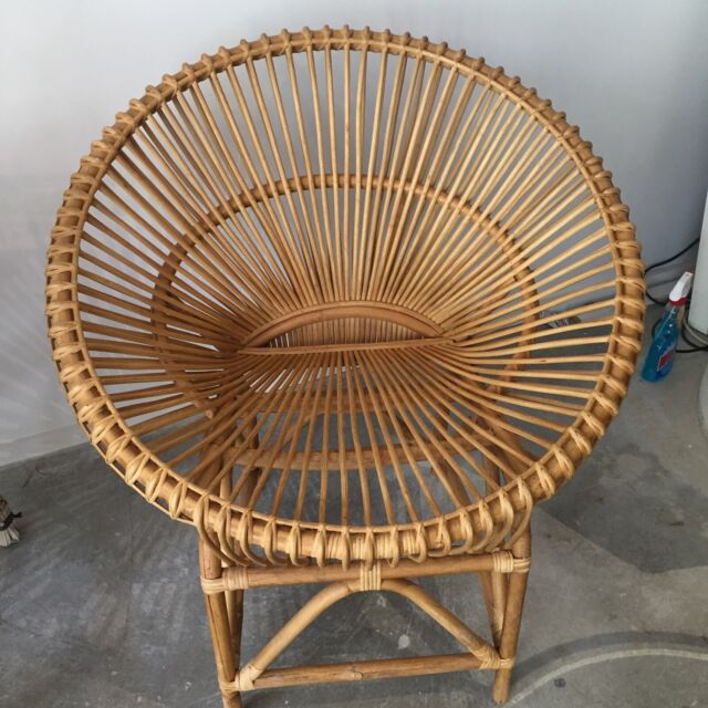 new rattan moon chair 6 available | Dining Chairs ...
