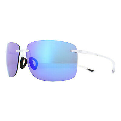 Maui Jim Gafas de Sol Hema B443-05CM Cristal Mate Azul Hawaii Polarizado