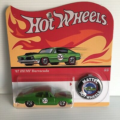 HOTWHEELS 67 HEMI BARRACUDA 1/64 SCALE 50 YEARS HOT WHEELS for sale  Shipping to Canada