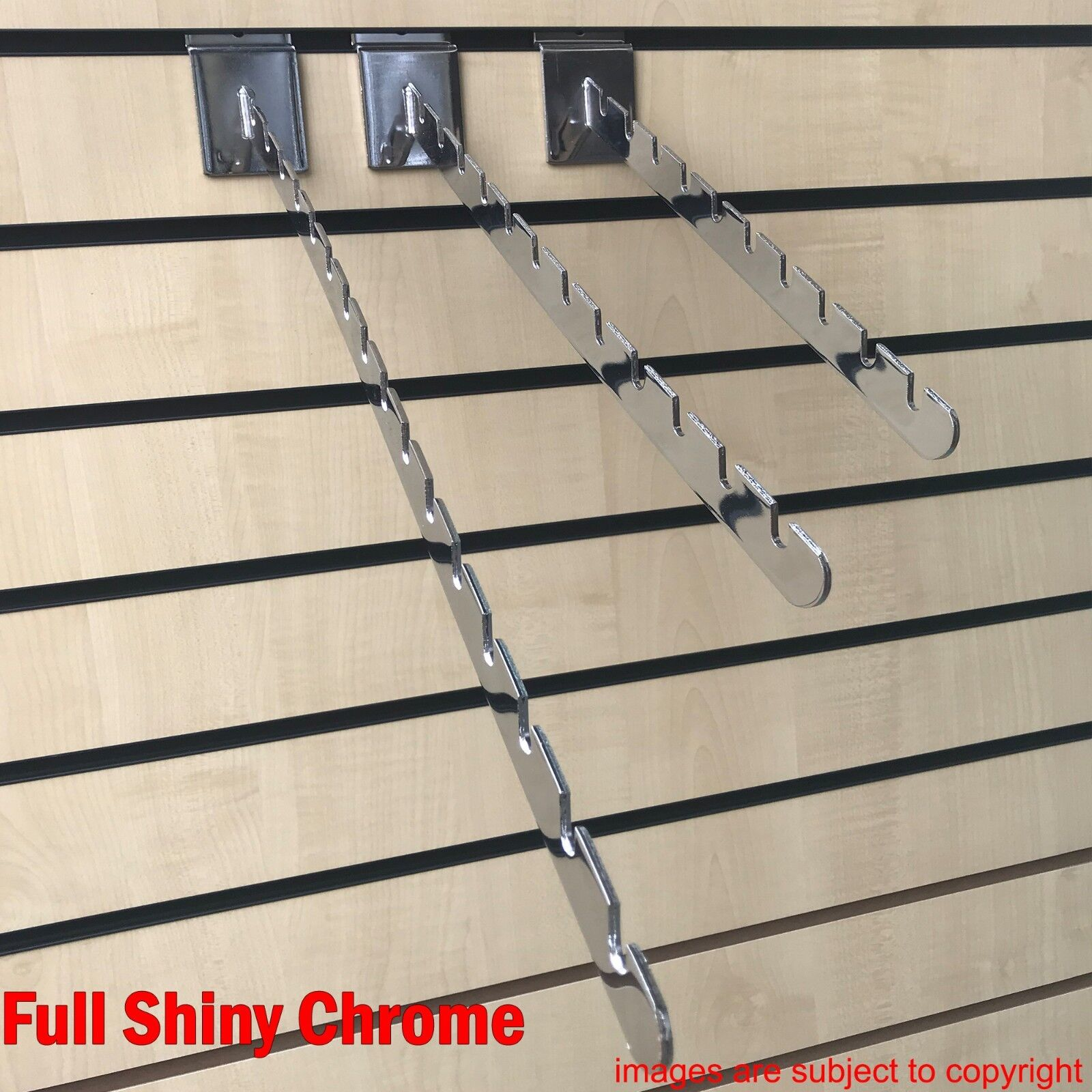 Slatwall Fittings Slatwall Clothes Rail Slat Wall Hanging Arm For Clothes /& Bags