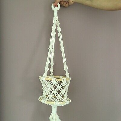 Macrame multipurpose basket | wall hangings | fruit basket | boho style