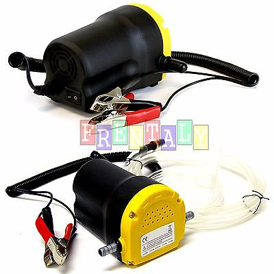12V 5A Oil Diesel Fuel Fluid Extractor Electric Transfer Scavenge Suction Pump