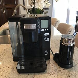 Cuisinart Kuerig Coffee Maker and Nespresso Milk Frother