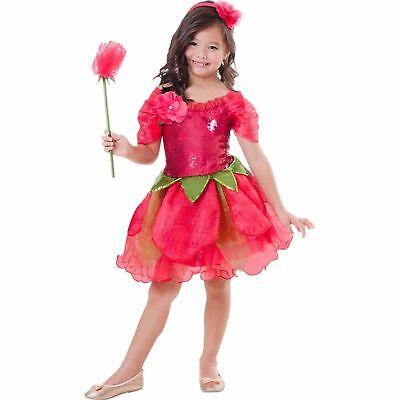 Rose Halloween Costume (Rose Flower Fairy Child Halloween Costume - Dress-up -)