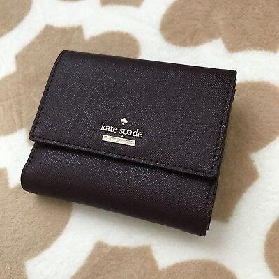NWT Kate Spade PWRU6437 Cameron Street Tavy Mahogany Wallet Limited edition