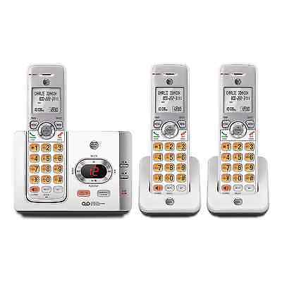 AT&T DECT 6.0 3-Handset Wireless Cordless Home Phone Digital Answering System