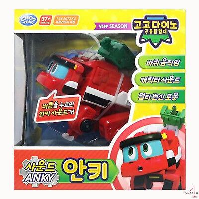 "6/""//Big Gogo Dino Sound DX Dinosaur Transformer Robot BEST 3pc Set-REX VIKI TOMO"