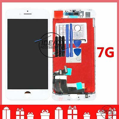 """Replacement White For Apple iPhone 7 4.7"""" LCD Screen Digitizer Touch Display UK"""