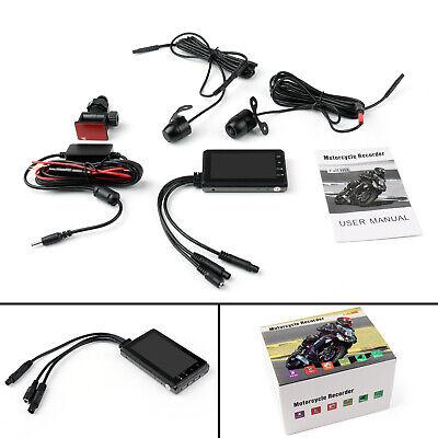 1080P Motorcycle DVR Motorbike Video recorder Dual Camera Support GPS G-sensor !