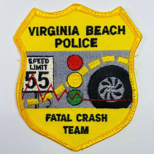 Fatal Crash Team Accident Investigator Virginia Beach Police Virginia Patch (A5C