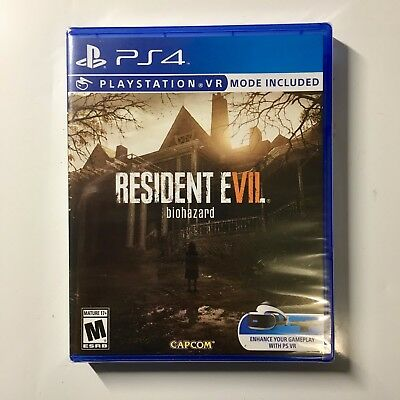 Resident Evil 7 Vii Biohazard  Playstation 4    Brand New   Free Shipping
